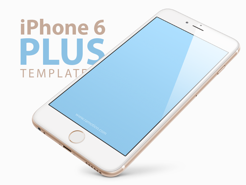 iPhone 6 Plus Template