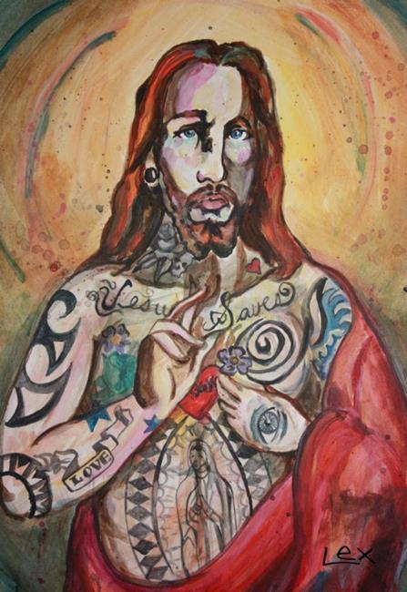 Jesus Contemporary Art Paintings