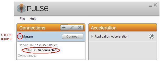 Juniper VPN Icon Connection