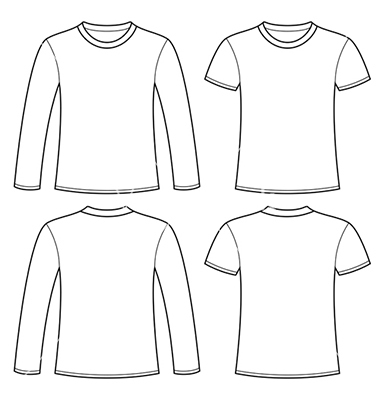 14 vector long sleeve t shirts images long sleeve shirt for Long sleeve t shirt template illustrator