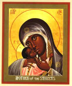 Mother Mary Religious Icon