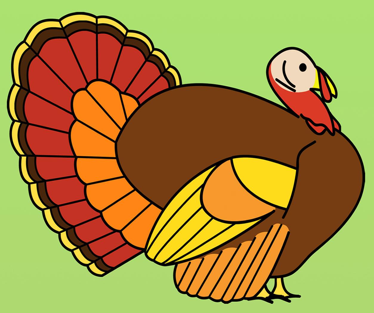 18 Turkey Clip Art Vector Images