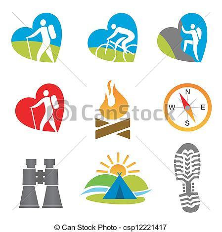 Outdoor Activity Icon Clip Art