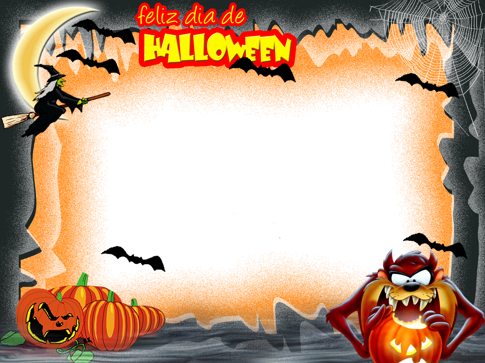 11 Photoshop Frame Png For Halloween Images Transparent Halloween