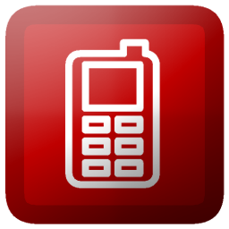 7 Cell Phone Icon Button Images