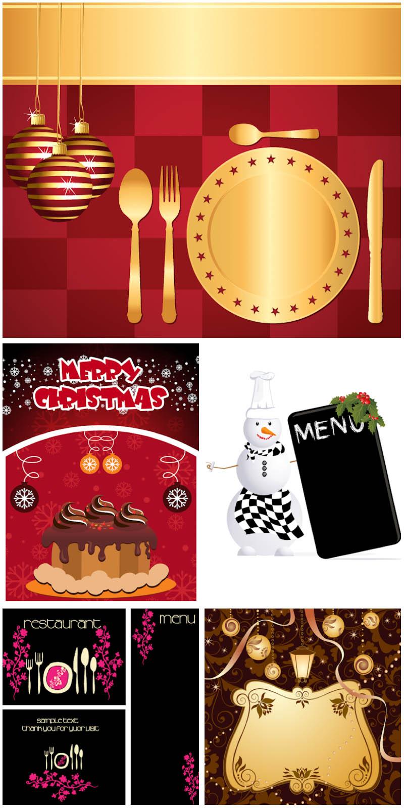 11 Free Restaurant Menu Vector Graphics Images