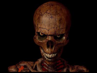 13 scary skull psd images scary skull mask blue evil