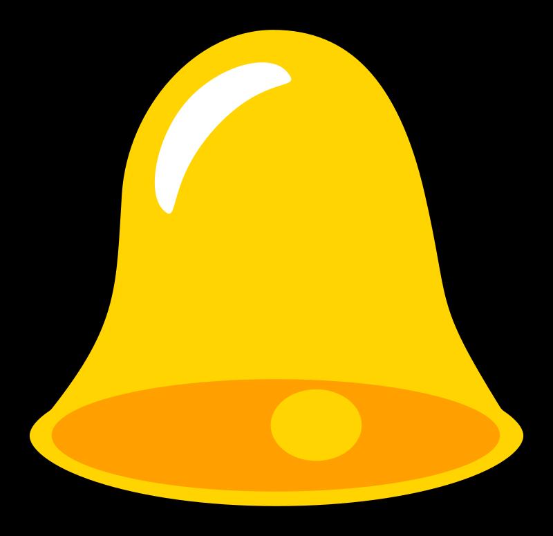 School Bell Clip Art Icon