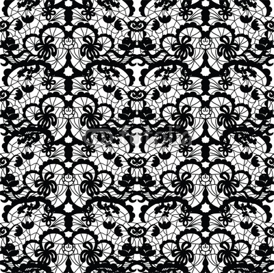 13 Rose Lace Pattern Vector Images