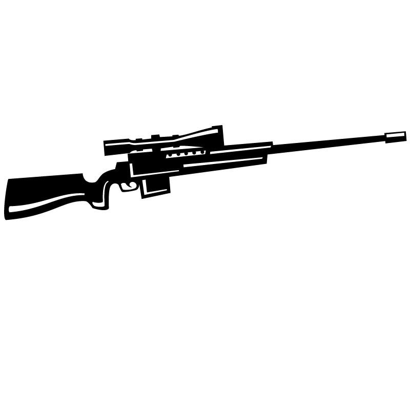 11 Gun Vector Clip Art Images