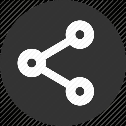 Social Network Icons Circle