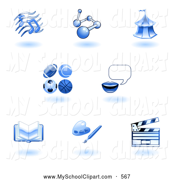 Subject School Icon Clip Art