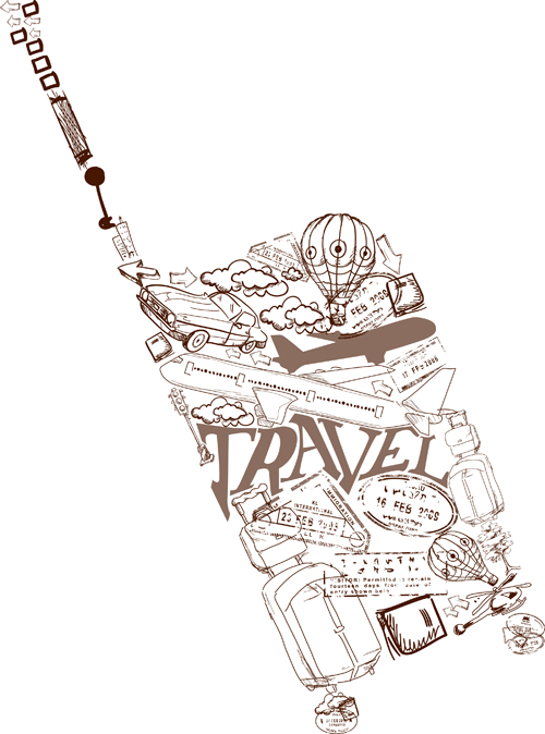 Travel Vector Free Download