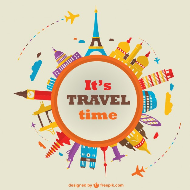 Travel World Vector Images Free