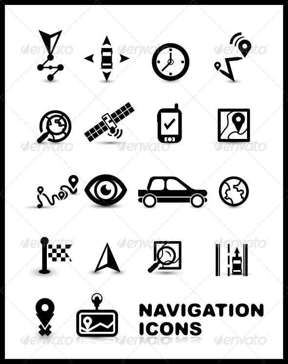 Vector Navigation Icons