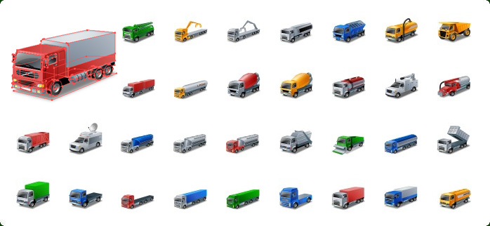 7 Icon For Water Truck Images