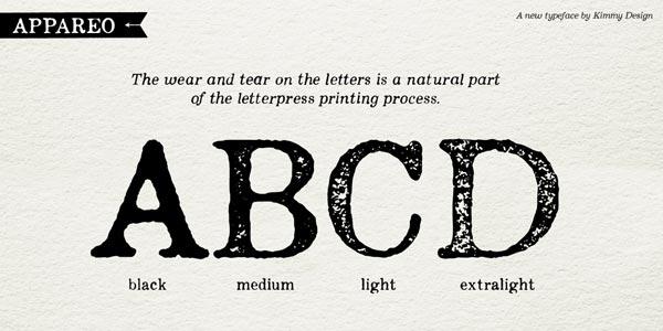 Vintage Book Serif Font