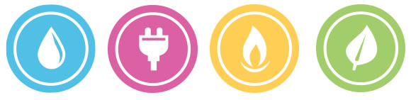 10 Gas And Electric Utilities Icon Images