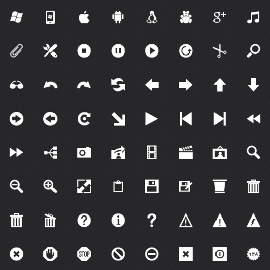 Windows Metro Icons Free