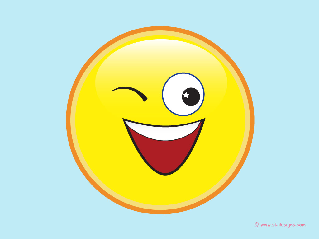 Winking Smiley-Face