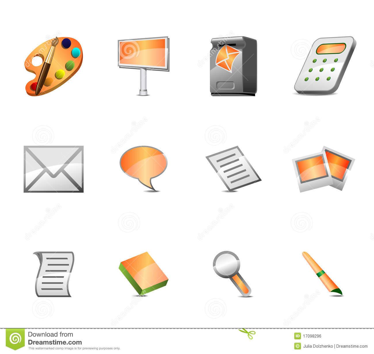 Advertising-Icon-Set