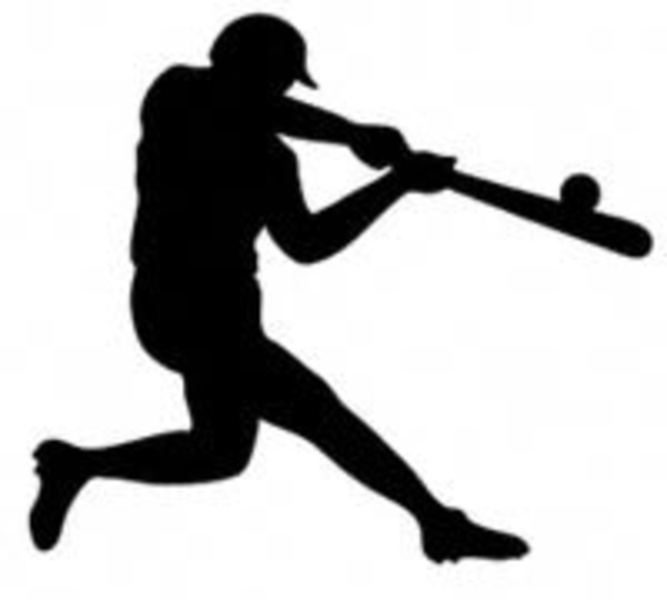 16 Baseball Silhouettes Vector Free Images