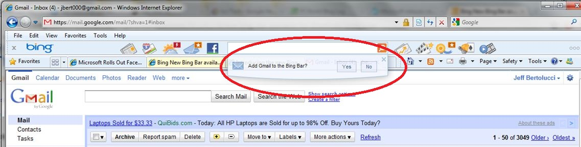 19 You Got To Add Bing Toolbar Mail Icon Images