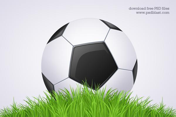 Black and White Football Icon