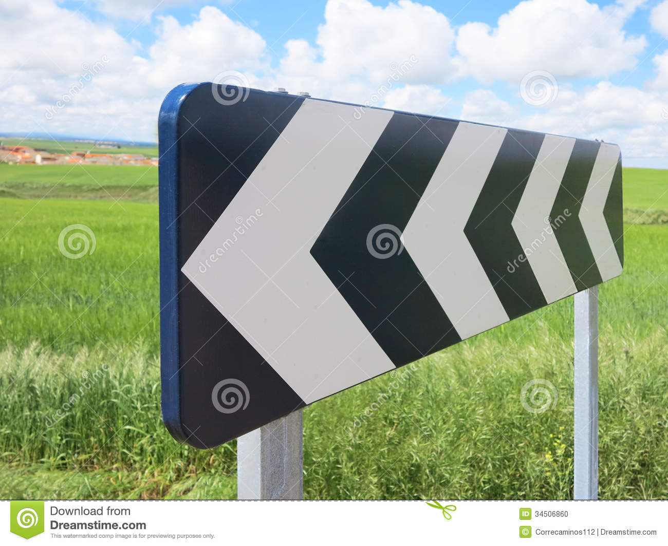 Black and White Traffic Signal Sign