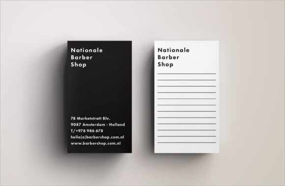 Blank Business Card Design Templates