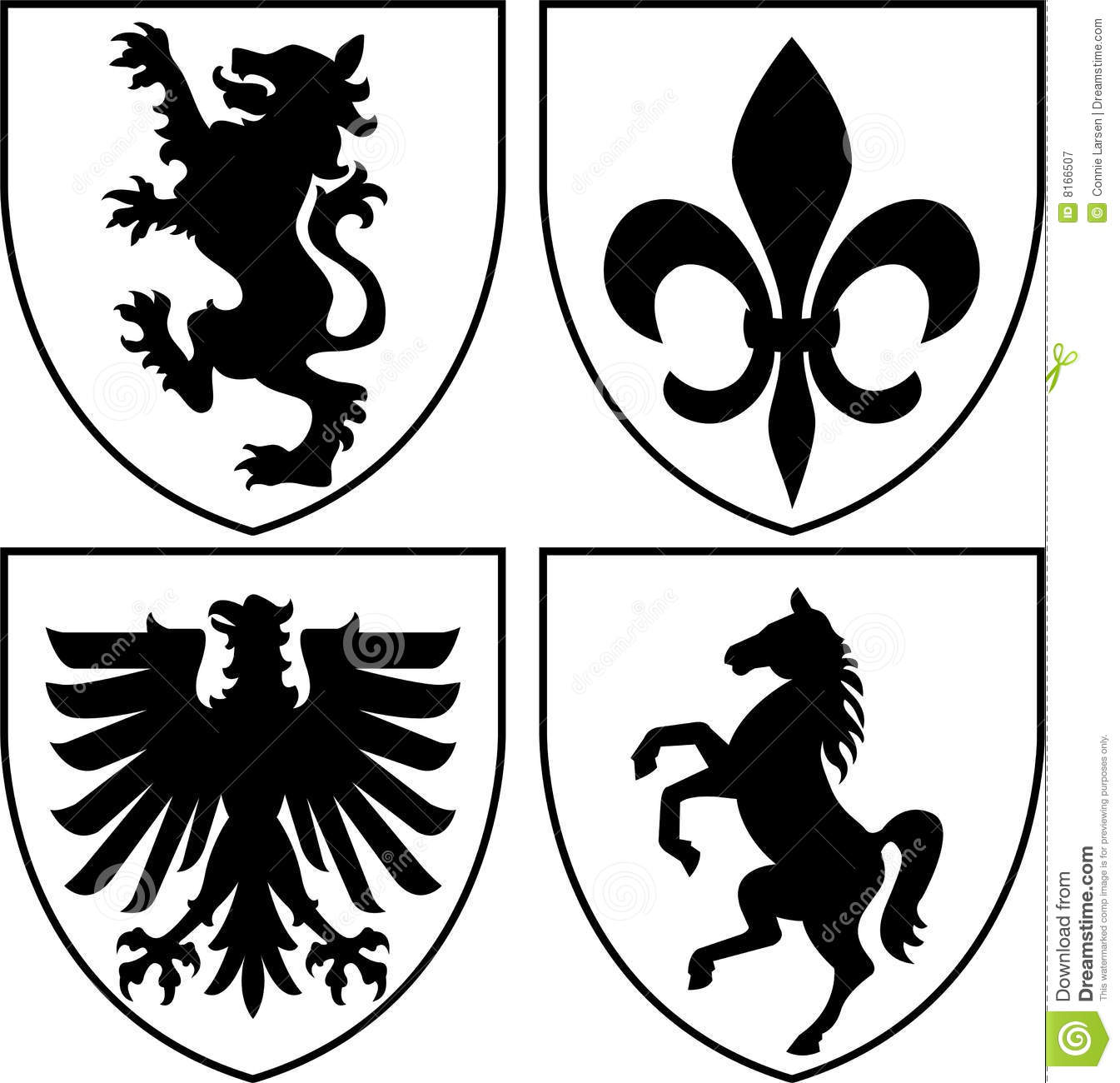 7 Family Crest Vector Art Images