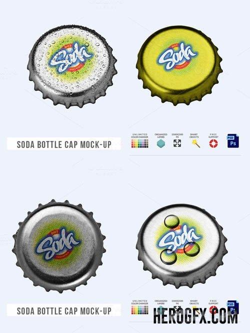 Bottle Cap Mock Up