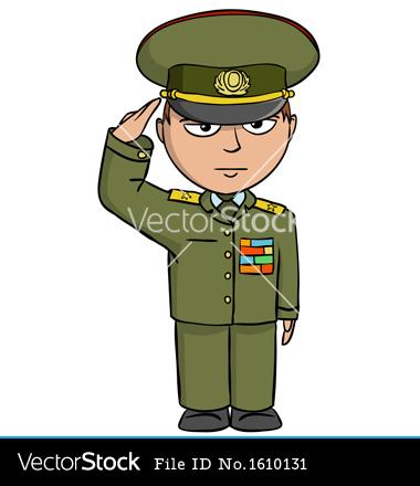 Cartoon Army Soldier Men