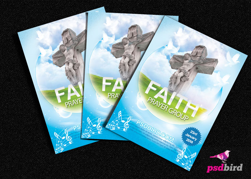 13 PSD Templates Flyers For Religious Images