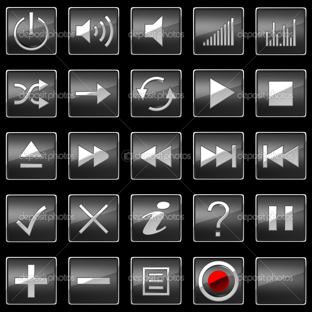 Control Panel Buttons