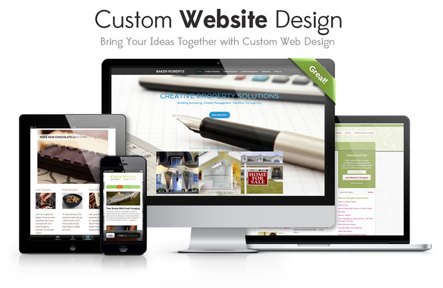 13 Custom Web Design Images