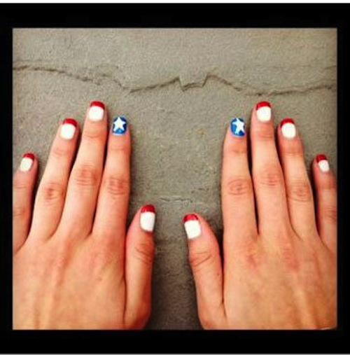 11 Cute Nail Designs For July Images July 4th Nail Art Designs