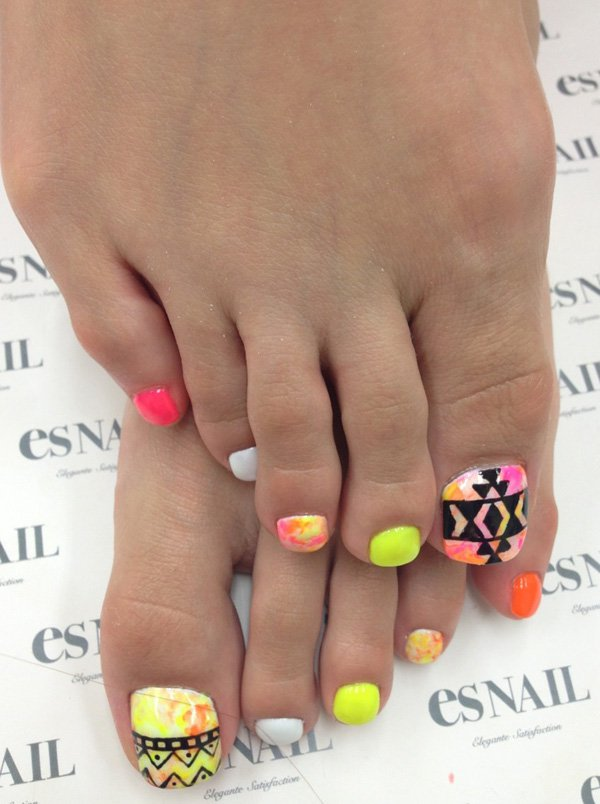 Cute Toe Nail Designs 2015