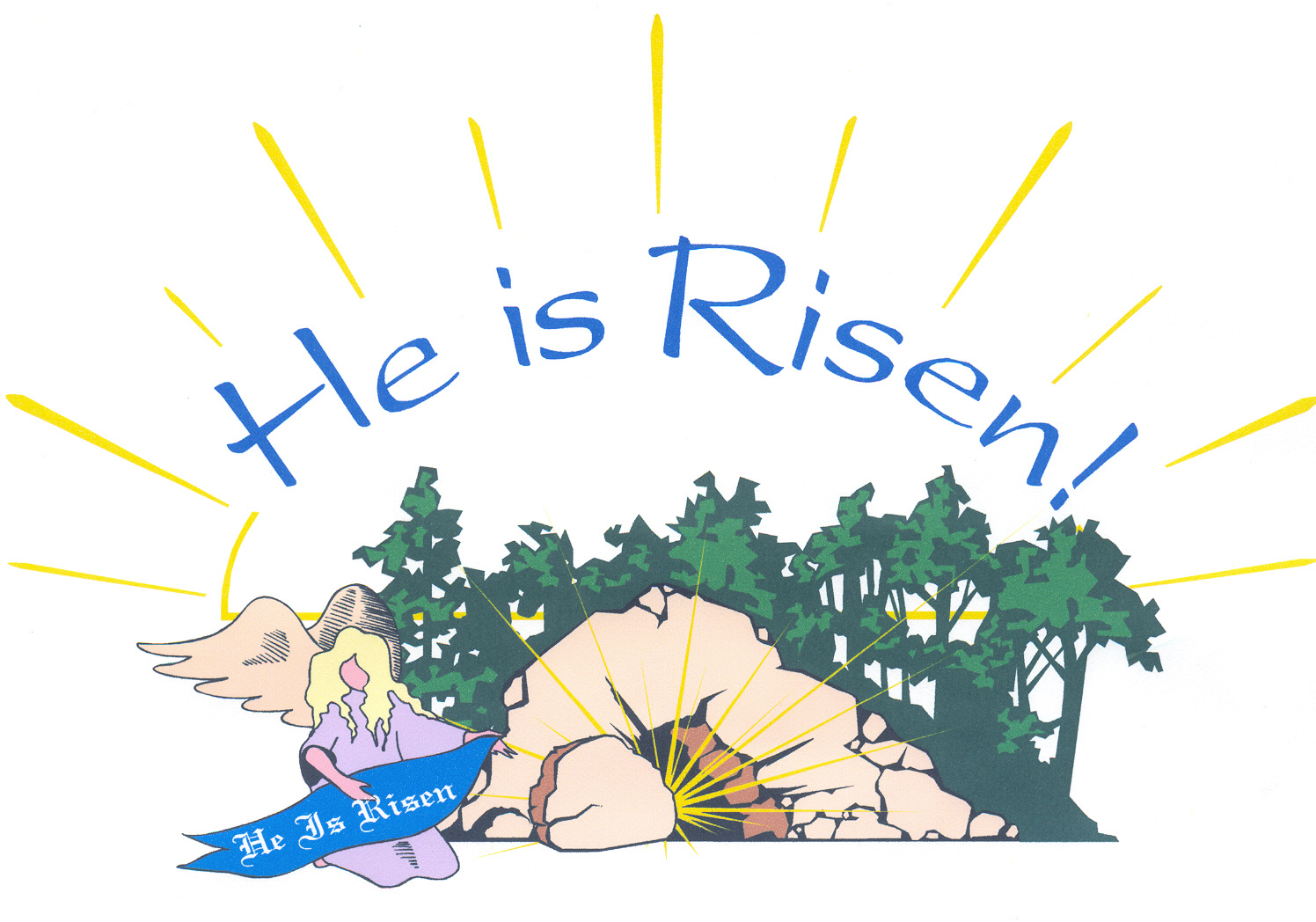 Easter Jesus Risen Backgrounds for Desktop