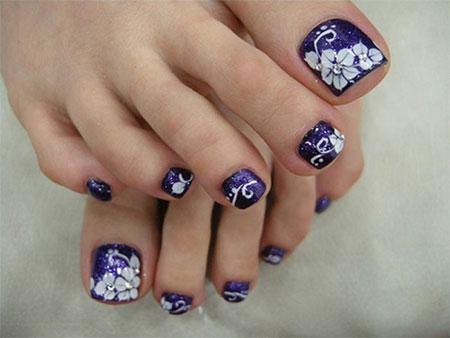 Elegant Toe Nail Designs