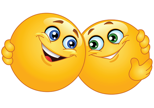 16 Hug Smiley Emoticons Images