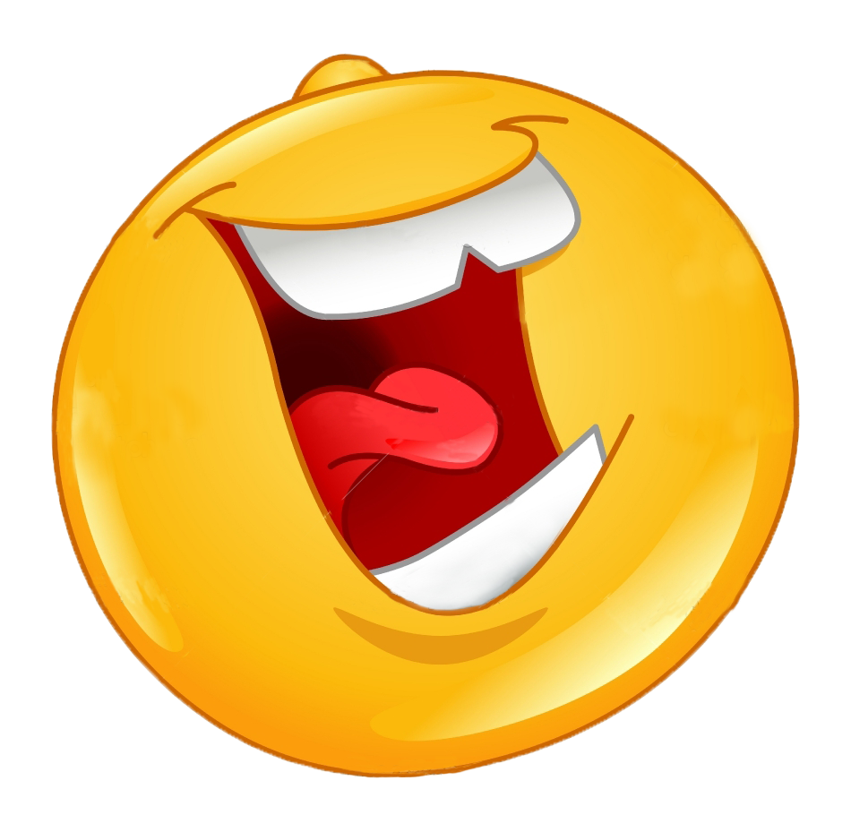 12 Laughing Face Emoticon Images