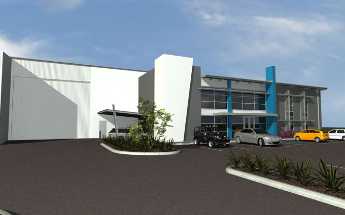 Factory Industrial Building Design