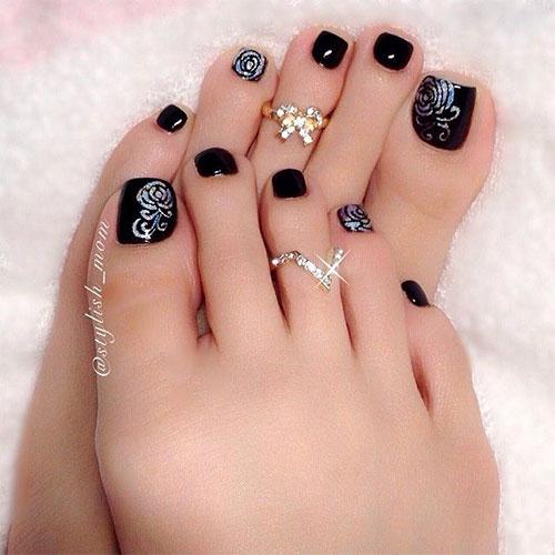 16 Classy Toe Nail Design 2014 Images