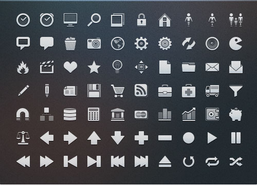 18 Navigation Bar Icon Images