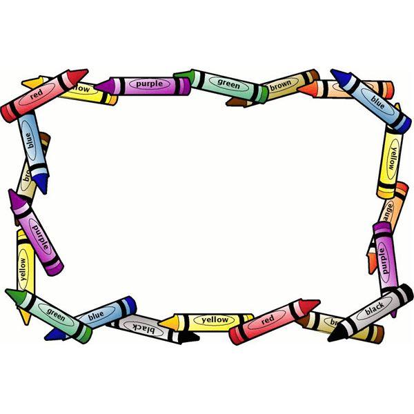 9 Kindergarten Border Designs Images