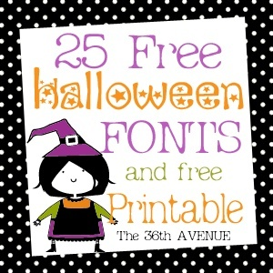 15 Free Halloween Fonts Printable Images