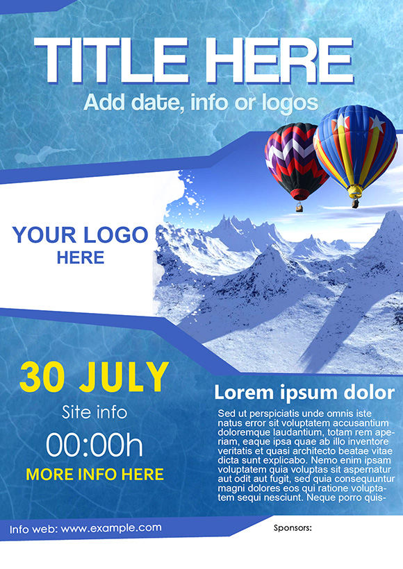 Free Psd Poster Design Templates