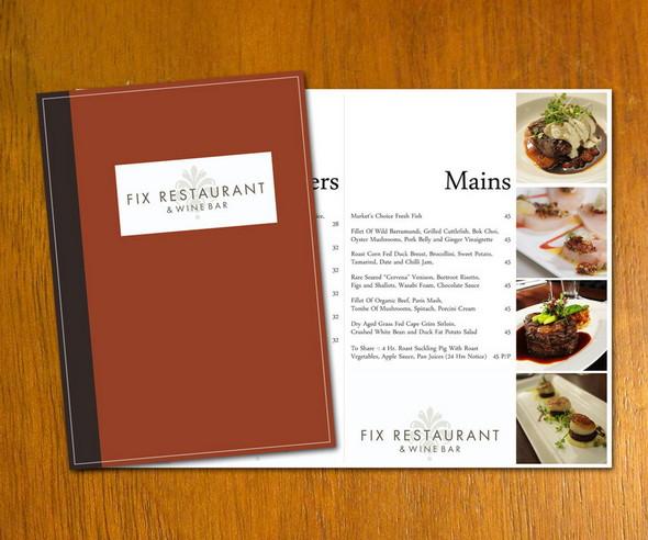 Free Restaurant Menu Design Templates