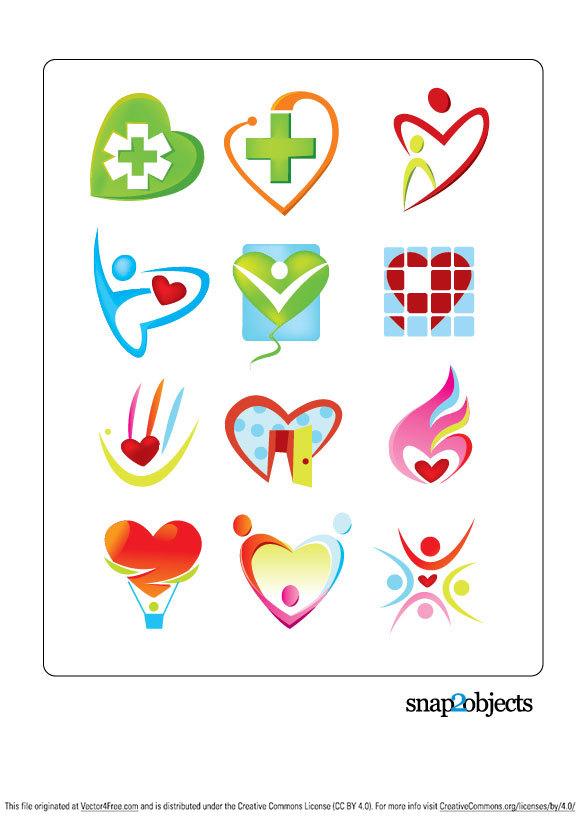 Free Vector Medical Logos
